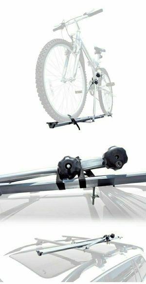 Brand new rooftop bike carrier rack strap bicycle on car roof mounting adjustable durable light weight for Sale in Whittier, CA