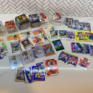 Lot Of Football Cards Rookie Card Prizm Optic Mosaic Relic Auto Short Prints for Sale in Phoenix, AZ
