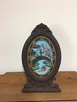 Antique Asian clock. for Sale in Fresno, CA
