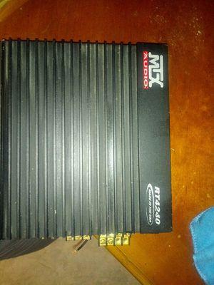 Amplifier MTX AUDIO for Sale in Santa Ana, CA