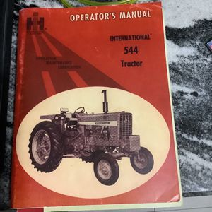 International 544 Tractor Operator's Manual for Sale in Fort Pierce, FL