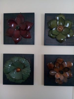 Wall Art and Candle Sticks for Sale in Plant City, FL