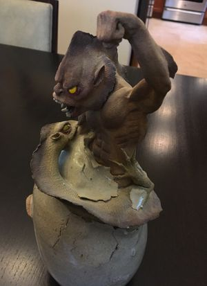 Dragon egg creature sculpture for Sale in McLean, VA