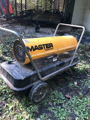 Master 150,000 btu space heater for Sale in Wadsworth, OH