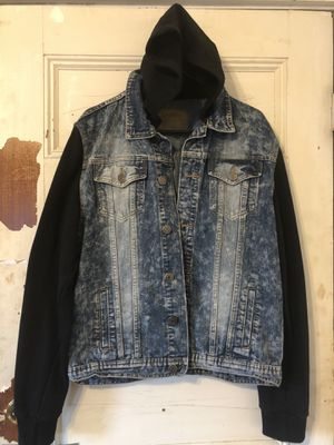 Denim jacket/hoodie combo for Sale in Lawrence, MA