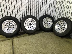Wheels and tires 5x4.5 for Sale in Hillsboro, OR