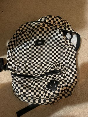 Vans Checkerboard Backpack for Sale in Channahon, IL