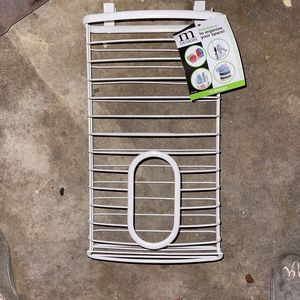 MDesign Metal Wire Wall Mount Kitchen Cabinet Storage Organizer Holder Basket for Sale in Bakersfield, CA