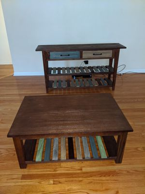 Coffee table and credenza for Sale in St. Louis, MO