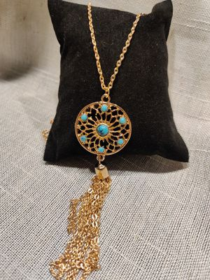 Chokers Necklaces Alloy Necklaces Feather Women Jewelry Long Sweater Chain Necklace for Sale in Tustin, CA