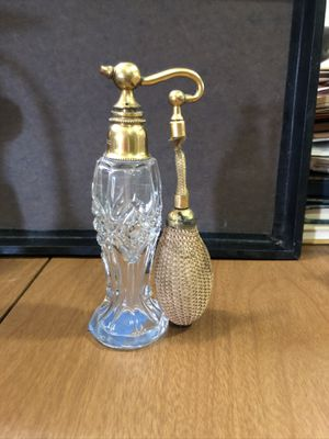 Antique Cut glass perfume bottles for Sale in Dallas, TX