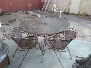 1920's antique patio table for Sale in Salt Lake City, UT