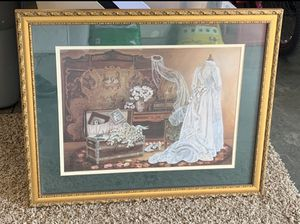 Home & Garden Party Bride Wall Picture for Sale in Caldwell, ID