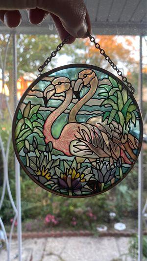 Joan Baker designs Flamingo sun catcher for Sale in Queens, NY