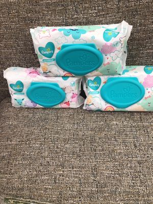 3 Packs of Pampers Wipes. Please see all the pictures and read the description for Sale in Falls Church, VA