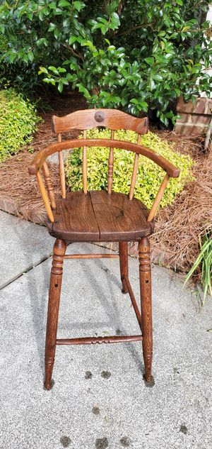 Antique Highchair for Sale in Wake Forest, NC