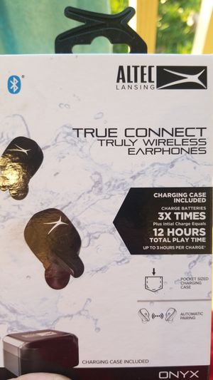 Altec lansing true connect truly wireless earphones for Sale in Stockton, CA