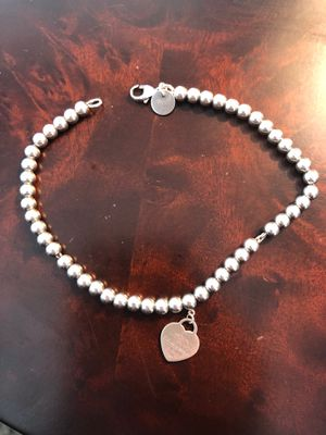 Return to Tiffany beaded bracelet Rosegold 7in for Sale in Rocklin, CA