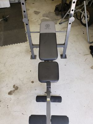 Gold's gym weight bench XR 6.1 for Sale in Fresno, CA