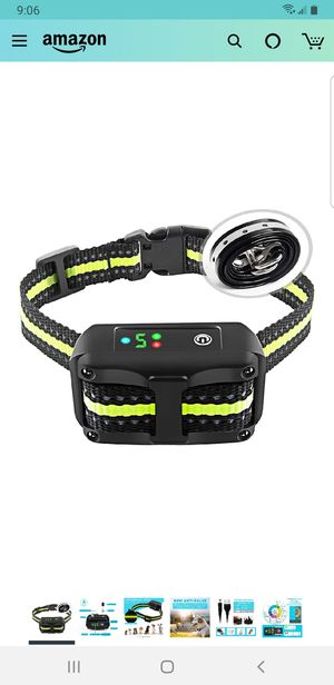 Bark Collar with Beep Vibration and Shock for Small Medium Large Dogs for Sale in Fontana, CA