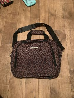 Rock land cheetah luggage carrying case/ laptop case/ travel for Sale in Fairmont,  WV