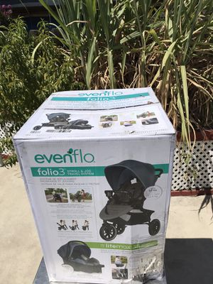 Evenflo Folio3 travel system for Sale in San Bernardino, CA