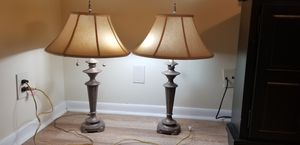 2 maxican antique real heavy copper lamp 180$ for both or 90 $ each for Sale in West Palm Beach, FL