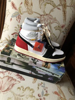 Air Jordan 1 X Union LA Black Toe Size 11 for Sale in Raleigh, NC