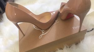 "Christian Louboutin Pigalle Follies 100(4"") Nude for Sale in Fairfax, VA"