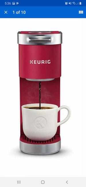 Keurig K Mini Plus Coffee Maker - Cardinal Red for Sale in Henderson, NV