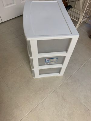 Plastic drawer for Sale in Humble, TX