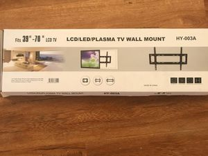 """New 39""""-70"""" TV WALL MOUNT Bracket (hold up to 140Ibs)pick up Baldwin Park or Downtown Store for Sale in Baldwin Park, CA"""
