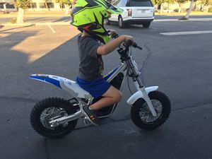 Electric Trials dirt bike for kids. Dommano brand. For ages 4-8 years old. Brand new condition. Like the Oset 16R - Beta trials bike for Sale in Fullerton, CA