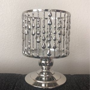 Beaded Pedestal 3-Wick Candle Holder for Sale in Rancho Cucamonga, CA