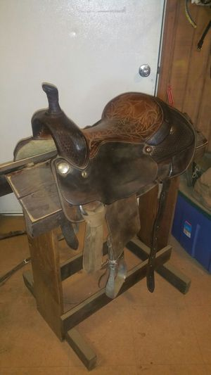 Billy cook cutting saddle for Sale in Mingo, IA