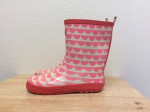 Girl's Pink Rain Boots Size 3 for Sale in West Covina, CA