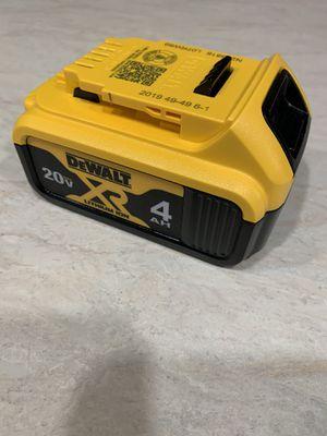 Dewalt xr4.0 battery. $50 price is firm for Sale in Bellevue, WA