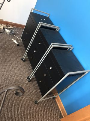 Make up/pedi carts for Sale in Davenport, IA