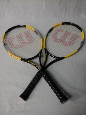 Wilson Energy Tennis Rackets for Sale in Clovis, CA