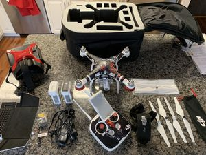 DJI Phantom 3 Advanced Drone Package with FPV Goggles for Sale in Hingham, MA