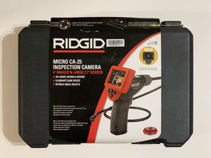 RIDGID Micro CA25 Inspection Camera (CA-25) for Sale in Garden Grove, CA