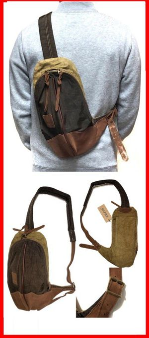 Brand NEW! Dark Brown Crossbody/Side Bag/Satchel/Pouch/Messenger For Work/Traveling/Sports/Gym/Hiking/Biking $20 for Sale in Carson, CA