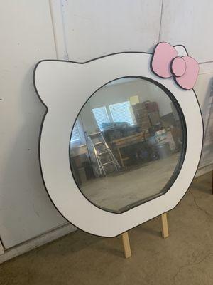 Hello kitty mirror for Sale in Bakersfield, CA