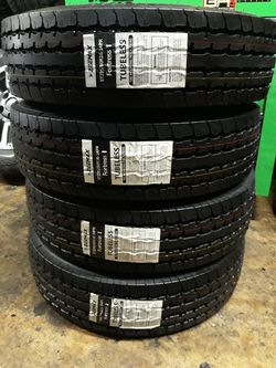4 NEW TRAILER TIRES 14PLY) SIZE 235/80/16 for Sale in San Antonio,  TX