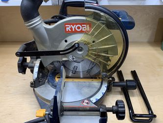 """Ryobi 10"""" Compound Mitre Saw With Laser for Sale in Maple Valley,  WA"""