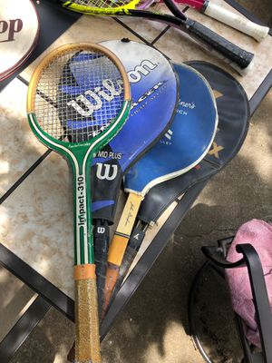 4 Tennis Rackets for Sale in Fresno, CA