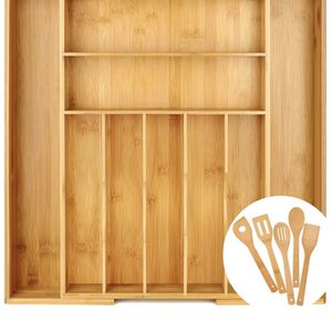 Expandable bamboo drawer organizer NEW for Sale in Naugatuck, CT