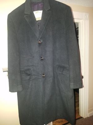 Cashmere black towncoat for Sale in Brewer, ME