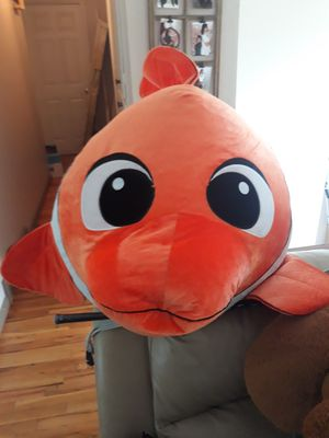 Giant Finding Nemo stuffed animal for Sale in Federal Way, WA