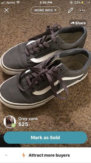 Grey vans for Sale in Fort Wayne, IN